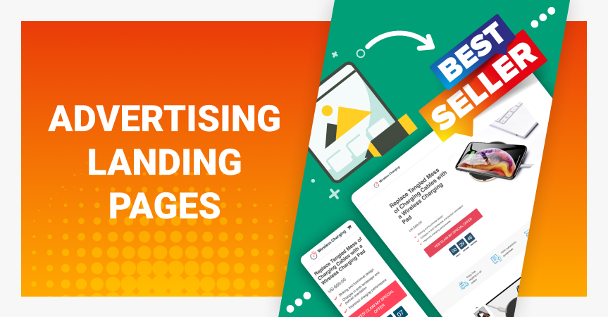 AliDropship team shares their experience in advertising a landing page with a single product