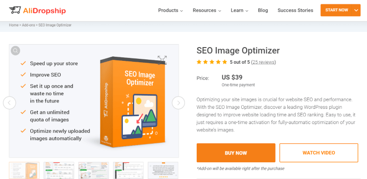SEO Image Optimizer: ecommerce tool for your website optimization