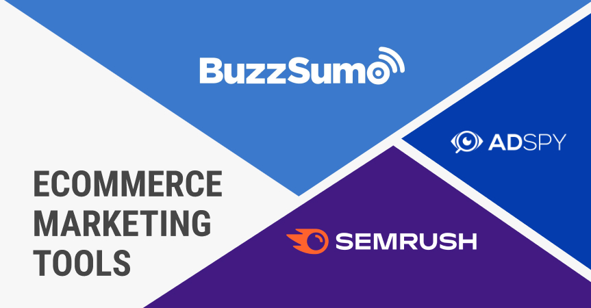 Ecommerce marketing tools for your dropshipping business