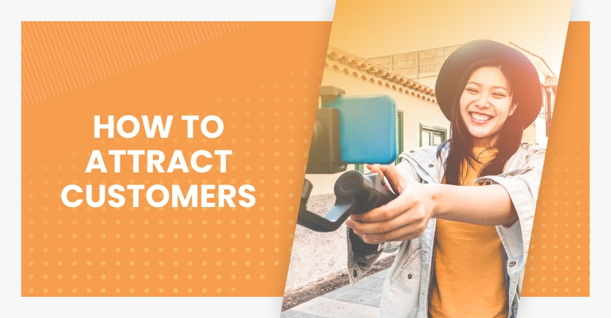 How to attract customers online