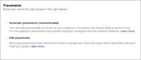 where to run Facebook promotion