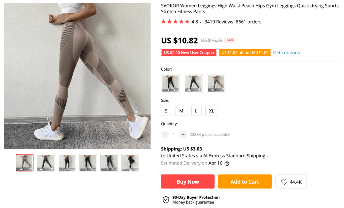 Useful things to buy right now: athleisure leggings