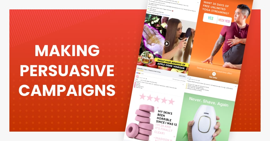 Making persuasive ads: tips and examples