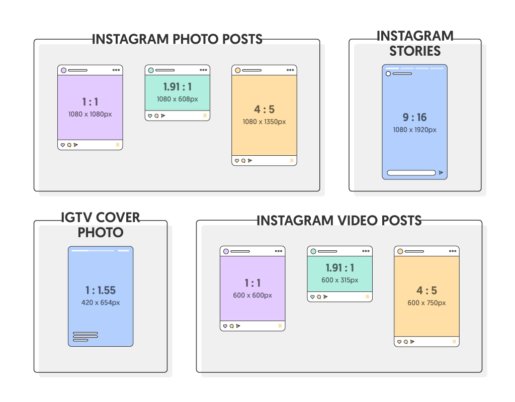 Instagram video aspect ratio explained