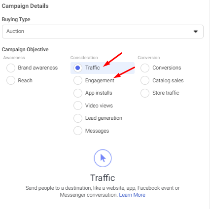 How to advertise on Facebook: choosing the ad objective