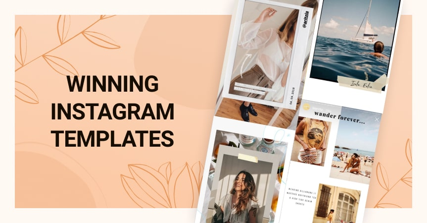 Making a powerful Instagram post template