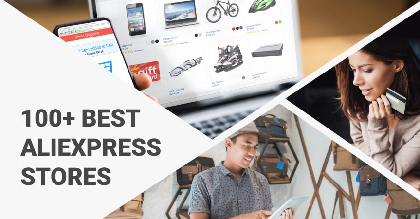 a cover of the article on the best AliExpress stores to buy from or partner with