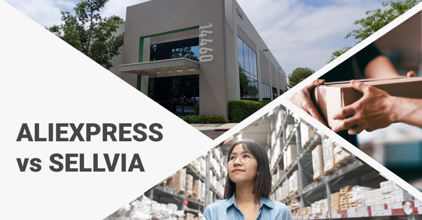 AliExpress vs Sellvia: comparing the solutions