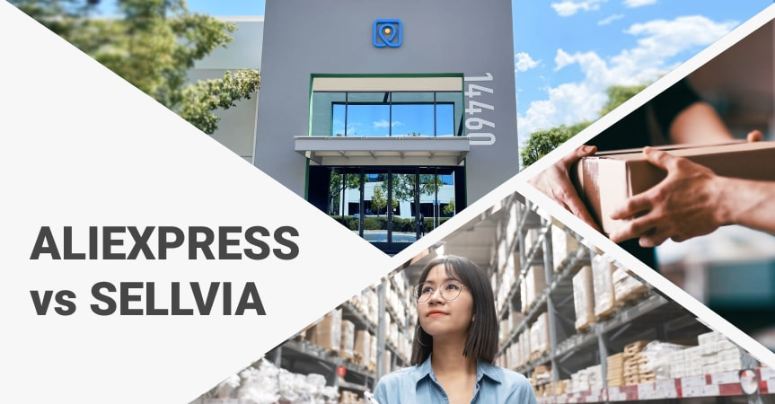 AliExpress vs Sellvia: comparing the ecommerce solutions for your online business