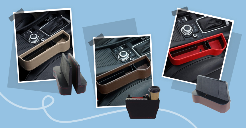One of the best dropshipping products to sell this week: multifunctional car organizer