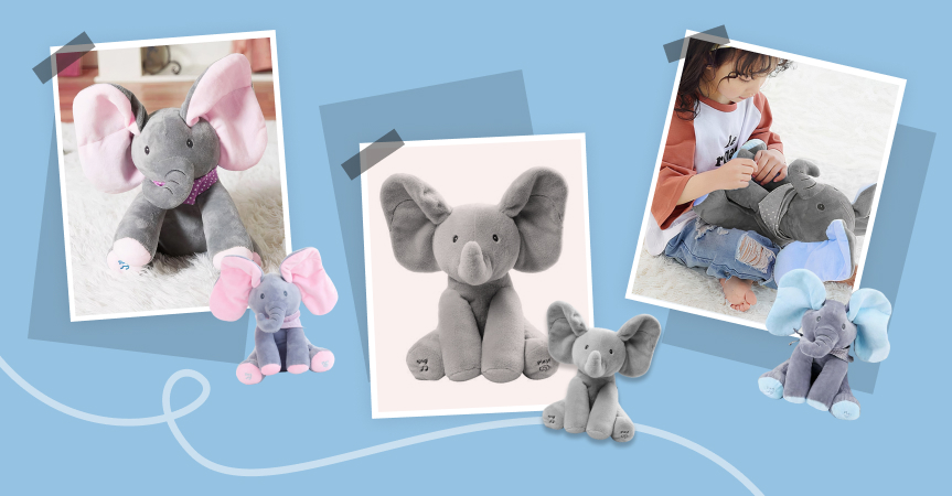 Check out one of this week's best dropshipping products: peek-a-boo elephant toy