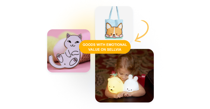 Examples of goods with string emotional value that can trigger impulse purchases