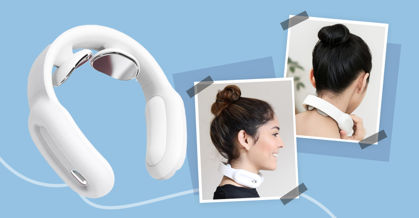 Best dropshipping products to sell this week: intelligent neck massager