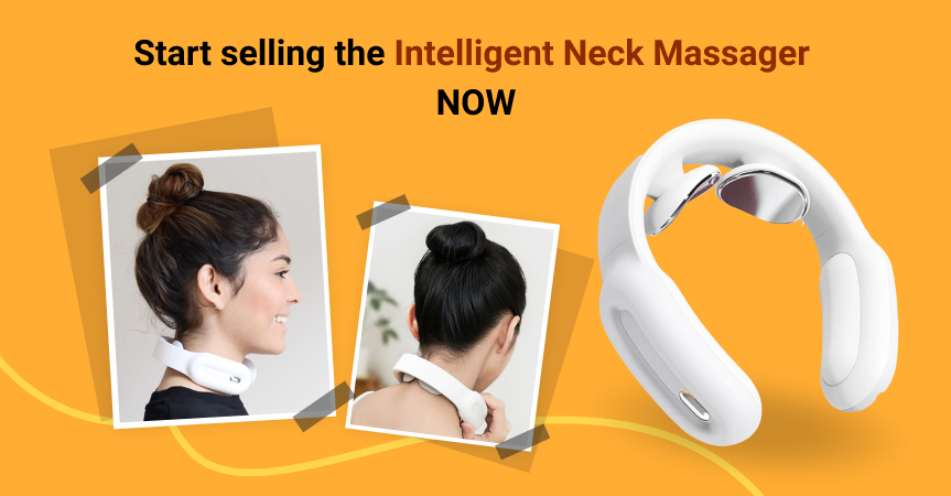 Start selling this neck massager, one of this week's best dropshipping products