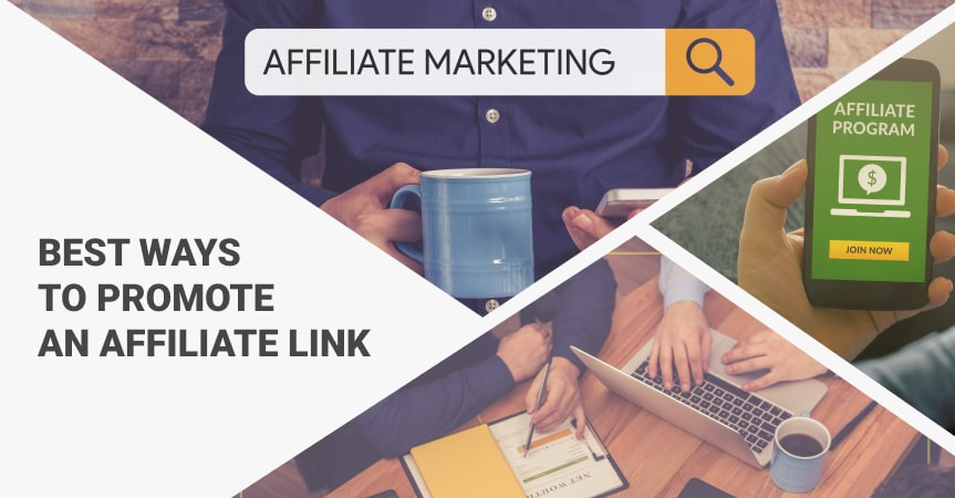 a cover of the article on the best ways to promote an affiliate link