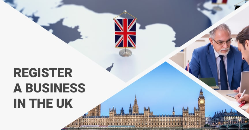 a cover of the article on how to register a business in the UK