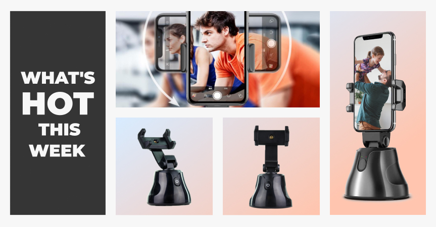 One of the best dropshipping products to sell now: Robot Cameraman