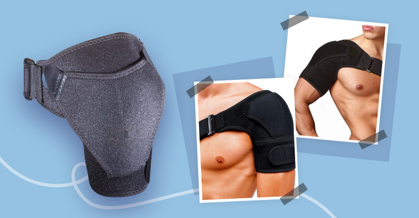 Orthopedic shoulder brace, one of the best dropshipping products to sell this week