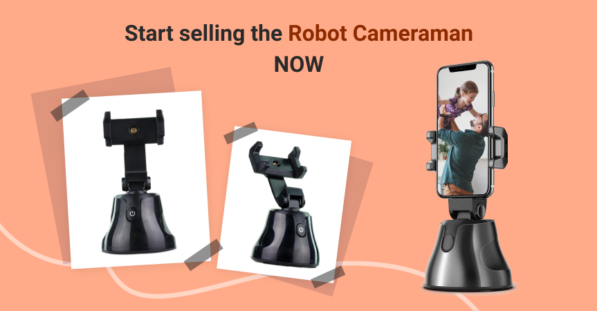 Go here to start selling Robot Cameraman, one of this week's best dropshipping products, now