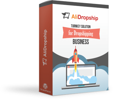 a picture showing the dropshipping automation software - it's AliDropship Plugin