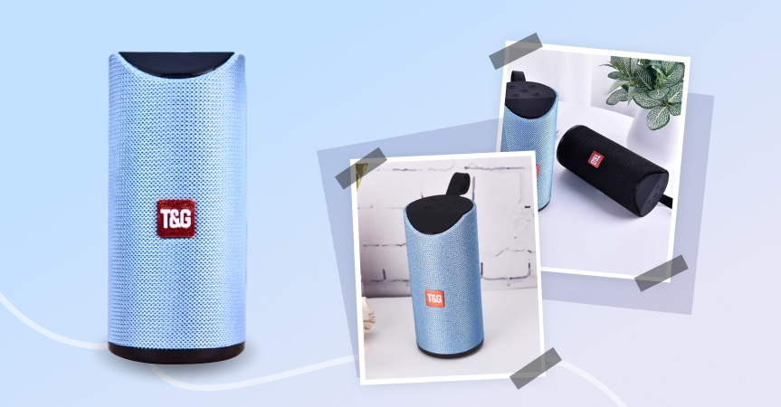 Portable Bluetooth speaker as one of the best dropshipping products to sell now
