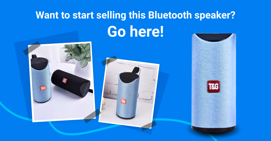 Go here to start selling this Bluetooth speaker