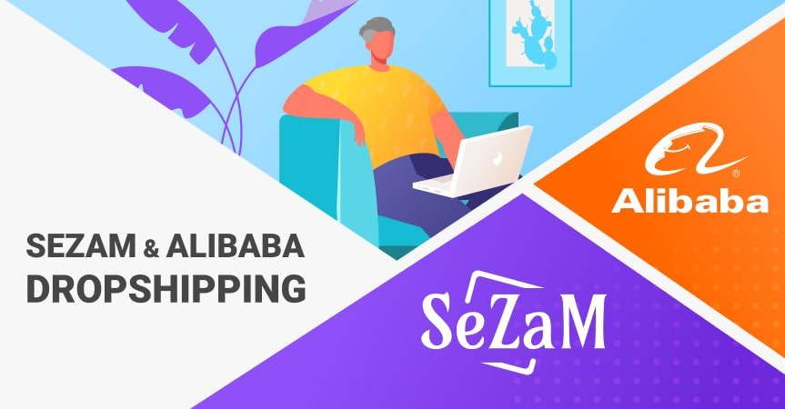 a cover of the article on how to dropship with Alibaba