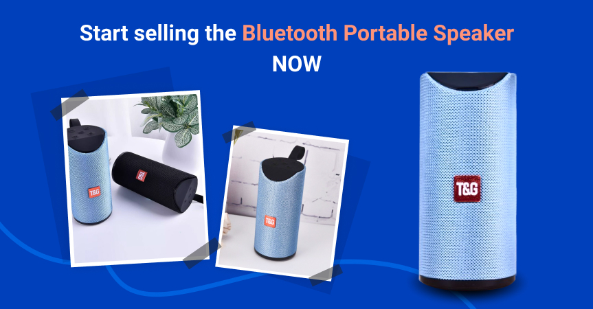 Start selling the Bluetooth portable speaker now