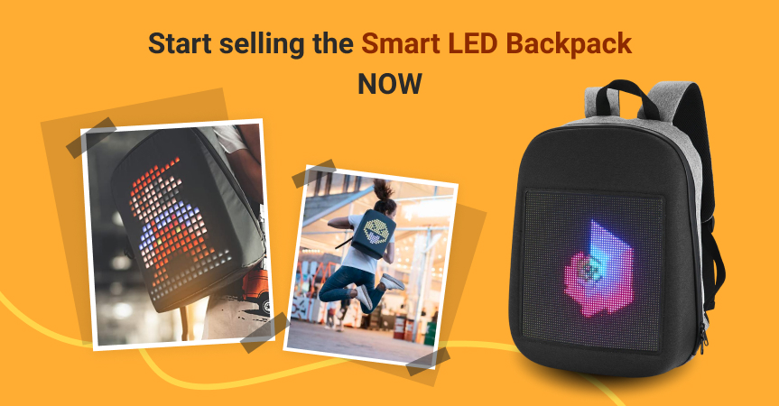 Start selling this Smart LED backpack now