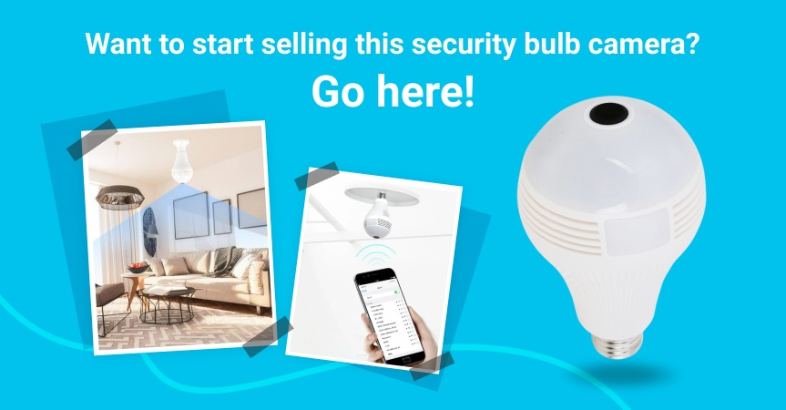 Go here to start selling this security bulb camera