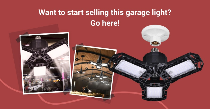 Go here to start selling this triple garage light
